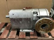 Gpm 9630105514 7.5hp Stainless Positive Displacement Pump 1180rpm 230/460v 3ph