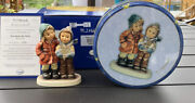 Goebel Hummel Tin And Figurine A Star For You 2222 Le 532 Tmk 8 Mint In Box