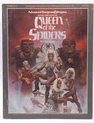 Adandd Queen Of The Spiders Vg Gary Gygax Tsr