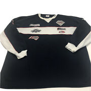 Vintage Pj Mark Classic Sweater With Racing Patches Size 3xl