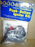 Harpco Replacement Push Button Igniter Kit For Gas Grill 7402s0061 .new Sealed
