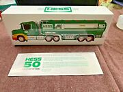 Super Vintage Real Hess Truck 50th Anniversary 1964 / 2014 Collectible N.i.b.