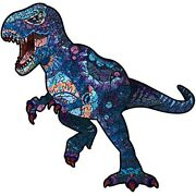 Resafy Wooden Jigsaw Puzzles200 Pieces 10.5×10 Inch Tyrannosaurus Rex Puzzle ...
