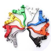 Aluminum Motorcycle Stunt Cable Clutch Lever For Honda Yamaha Dirtbike Off Road