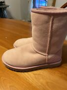 Pink Size 7 New Uggs.