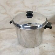 Saladmaster T304s 10 Qt  Stock Pot And Lid Stainless Steel Cookware
