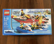 Lego City 60005 - Fire Boat - Fire And Rescue Boats Brand New Sealed Box - Retired