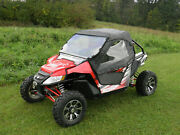 Arctic Cat Wildcat Trail And Sport Full Cab With A Lexan Windshield 2014+