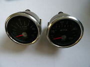Dw0053 - One Pair Of Genuine Smiths Speedometer And Tachometer - 1741 Miles Only