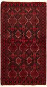 Vintage Geometric Hand-knotted Carpet 3and0396 X 6and0397 Traditional Wool Area Rug