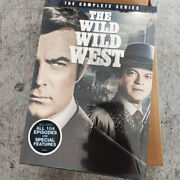 The Wild Wild West The Complete Series [new Dvd 26-disc] Boxed Set Full Frame