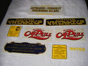 Rumley Oil Pull Decal Set Advanced Thresher Co La Porte Indiana In G11