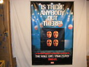 Pink Floyd The Wall Live Banner Is There Anybody Out There Signed Vegro 69 1/2
