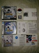 Pokemon Soul Silver Complete Authentic Nintendo Ds W/ Box And Pokewalker Tested