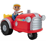 Cocomelon Official Musical Tractor W/ Sounds And Exclusive 3-inch Farm Jj Toy, A