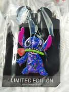 Disney Stitch Crashes Beauty And And The Beast Pin Limited Edition Rare
