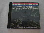 Hard To Find Sutherland Special Forces 1952-2002 Cd Uniforms Insignia History