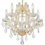 Crystorama 4405-gd-cl-s Maria Theresa Mini Chandelier Gold