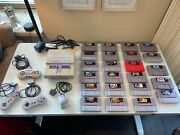 Snes Classic Edition Grey Gaming Console With 23 Games And Three Controllers