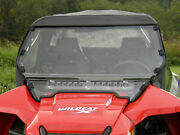 Arctic Cat Wildcat X And 1000 2-piece Lexan Windshield W/ Quick Straps And Vents