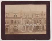President Grover Cleveland Inauguration Parade Decorations Antique Photograph
