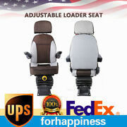 Suspension Tractor Seats Forklift Seat Adjustable Back For Replacement Usa