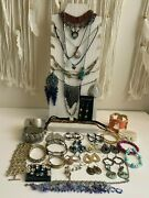 Fashion Jewelry Lotandnbsp 48 Pieces Necklaces Earrings Chokers Bracelets Andnbsp