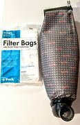Kirby Heritage Ii Vacuum Cloth Scottfetzer Outer Bag With Tube And 6 Filter Bags