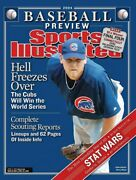 Chicago Cubs Sports Illustrated Kerry Wood No Label 2004 Baseball Preview