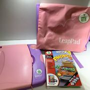 Leapfrog Leappad Learning System Pink Backpack Phonixs 3