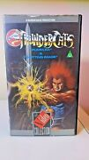 Thundercats - Volume 1 1985 Vhs, 1986 -ra And Spitting Image +fast Free Post