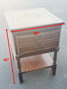 Vintage Pfankuch Furniture Co. 42 Night Stand No 2150 Commode Antique Rare