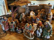 Home Interiors Christmas Nativity Set - Stunning Holiday Exquisite Detail 2001