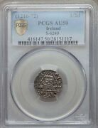Ireland Henry Iii England 1216-1272 Silver Penny Coin, Certified Pcgs Au-50