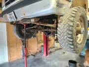 Ford Dana 60 Kingpin Front Axle Assembly Drivers Side Drop Plus Rear Axle Pair