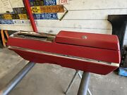 1967 1968 1969 Cutlass Center Console Oldsmobile Automatic Floor Shift Red 442