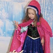 Disney Store Frozen Anna Limited Edition Costume Size 4