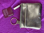 Starbucks Card Pouch Keychain Coin Purse Gold Wallet Gift Cards Nwt 2012