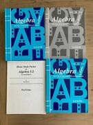 Saxon Algebra 1/2 Text Solutions Manual Home Study Packet And Test Forms 2nd Ed