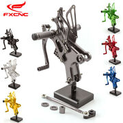 Cnc Adjustable Rearsets Foot Pegs Footrests For Honda Cbf150 Cb190r Motorcycle