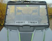 2020+ Arctic Cat Prowler Pro Lexan Windshield With C Clamps And Dual Vents