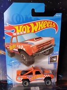 2021 Hot Wheels 168 Orange And03987 Dodge D100. Nice Brand New Package