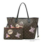 Louis Vuitton My Neverfull Mm Lv World Tour M42844 Tote Bag