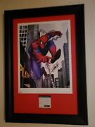 Stan Lee Signed Spiderman Poster Psa Dna Very Special
