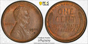 1909 S Vdb 1c Lincoln Wheat Cent Pcgs Ms 63 Bn Uncirculated Cac Approved Cert...