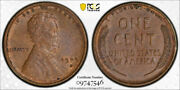 1909 S Vdb 1c Lincoln Wheat Cent Pcgs Au 58 About Uncirculated Cac Approved