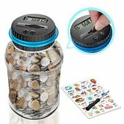 Free Breath Digital Coin Bank, Piggy Bank For Boys And Girls, Coin Counter Bank