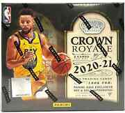 2020-21 Panini Crown Royale Basketball Tmall Asia Exclusive Sealed Case 20 B...