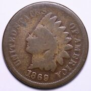 1869/9 Indian Head Cent Penny Choice Good Free Shipping E639 Qlm