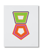 Beverly Fishman Print - Stack A Sold Out